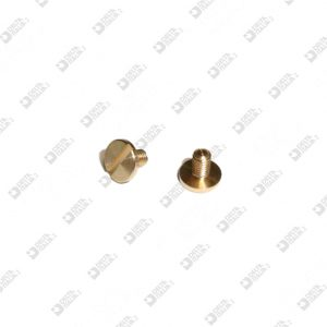 63162/4 SCREW TC 6X5 M 2,6X4 BRASS