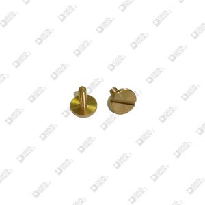 63209 SCREW D. 10 M 3X9,5 TC BRASS