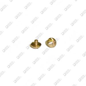 63493 SCREW D. 5X4,2 M 2X2,2 BRASS
