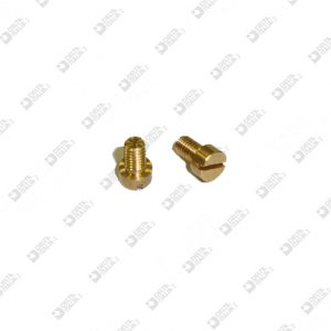 63664/4 SCREW TC 4X6 M 2,6X4 BRASS