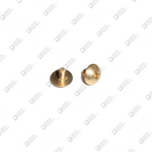 63779/6,5 SCREW HEXAGONAL PIT 7,5X6,5 M2,5X4,5 BRASS
