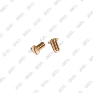 63839/4,8 SCREW TB M 2,5X 4,8 T. 4 BRASS