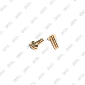 63958/12 SCREW TBL M 4X12 T. 8 BRASS