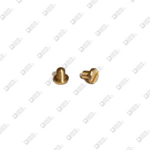 64130/4 SCREW TC M 3X4 T. 5 BRASS