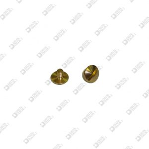 64156/ 4 SCREW TBL M 3X4 T. 8 BRASS