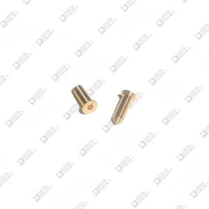 65223/8 TPS M 2,6X8 T. 3,9 TORX WITH TIP ECOBRASS