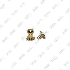 10053/P POMOLO A PRESSIONE 6,5X8 SFERA 5 C/MASCHIO OTTONE