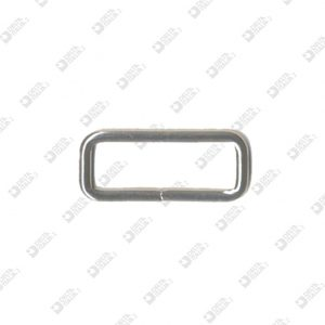 10065/25 RECTANGULAR RING 25X8,5 WIRE 2,4 MM IRON