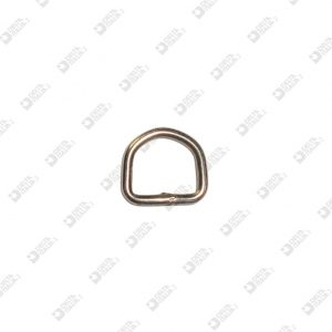 10611/12 WELDED HALF-RING 12X11 WIRE 2,2 MM IRON