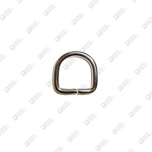11055/20 HALF-RING 20X20 WIRE 4 MM BRASS