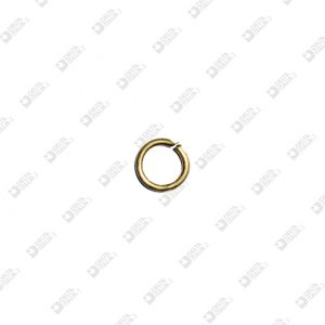 11197/6 LITTLE RING 6 MM WIRE 1,2 MM BRASS