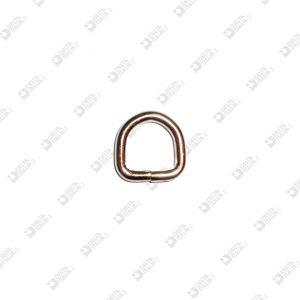 11199/12 WELDED HALF-RING 12X12 WIRE 3 MM IRON