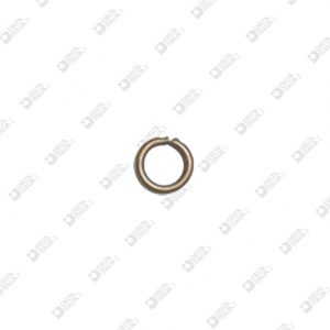 11356/5 RING 5 MM WIRE 1,4 MM BRASS