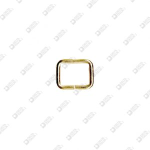 2245/15 RECTANGULAR RING 16X12 WIRE 2,5 MM IRON