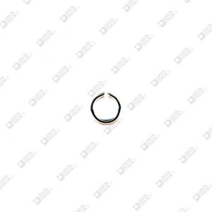 8184/4 LITTLE RING 4 MM WIRE 0,8 MM BRASS