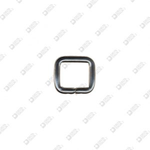 9155/20 RECTANGULAR RING 20X18,5 WIRE 5 MM BRASS