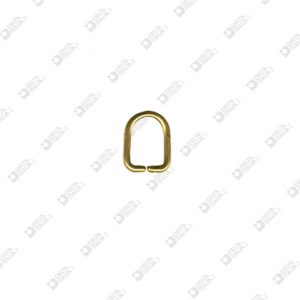 9342/5,5 PULLER RING  5,5X7,3 WIRE 1,2 MM BRASS