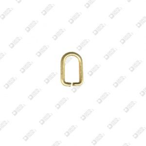 9343/5 PULLER RING 5X9,6 WIRE 1,5 MM BRASS