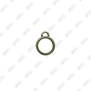 9449 DOUBLE RING 12X16 MM ZAMAK