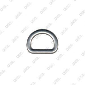 9544/25 HALF-RING 25X18 WIRE 6 MM ZAMAK