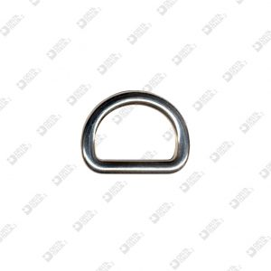 9544/30 HALF-RING 30X22 WIRE 6 MM ZAMAK