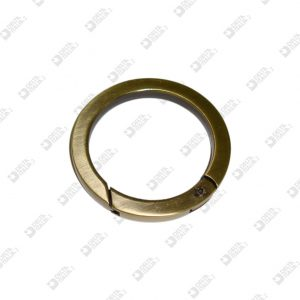 9651/35 ROUND OPENABLE RING 35×6 SQUARE SECTION IN ZAMAK