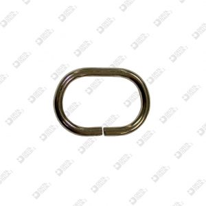 9877/40 OVAL RING 40X25 WIRE 5 MM IRON