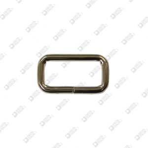 9879/35 RECTANGULAR RING 35X15 WIRE 5 MM IRON