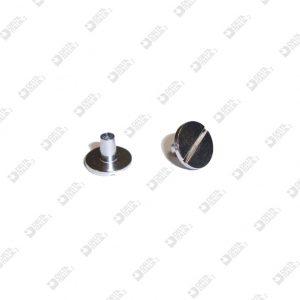 10947/5,5 BORCHIA 10X7 GAMBO L. 5,5 MM TAGLIO CACCIAVITE OTTONE