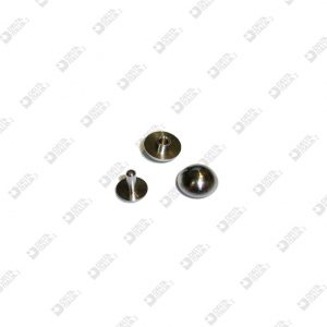63468 ORNAMENT D. 12 MM BRASS