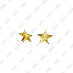 2072 STAR SHAPE ORNAMENT FOR RIVET HEAD 033 ZAMAK