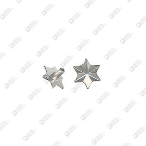 8138 STAR SHAPE ORNAMENT 6 TIPS FOR HEAD RIVET 033 ZAMAK