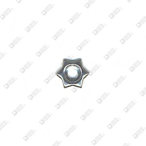 8160 BORCHIA STELLA PICCOLA FORO 3 MM FERRO