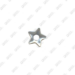 8161 ROUNDED STAR SHAPE ORNAMENT HOLE 4 MM IRON
