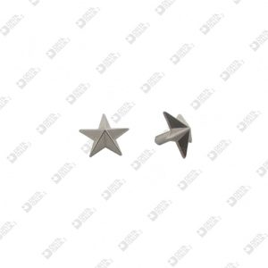 9041 STAR SHAPE ORNAMENT FOR RIVET HEAD 031 ZAMAK