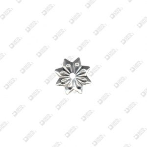 9163 WORKED STAR SHAPE ORNAMENT 8 MM TIPS IRON