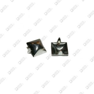 2912 PYRAMID ORNAMENT 17X17 MM WITH FINS IRON