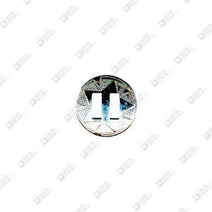 4100 BORCHIA TONDA STELLA D. 22 MM CON ASOLE FERRO