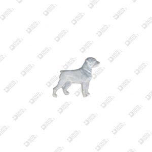 10125 DOG SHAPE ORNAMENT ZAMAK