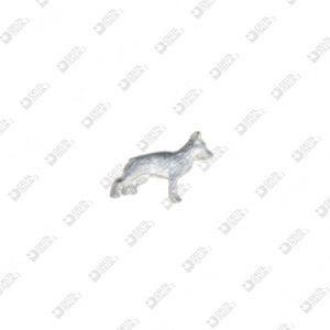 10134 DOG SHAPE ORNAMENT ZAMAK