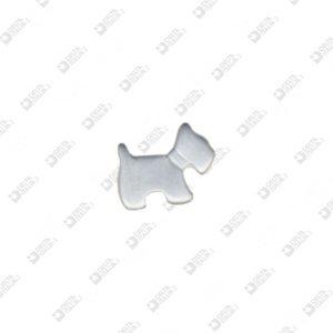 1509 DOG SHAPE ORNAMENT ZAMAK