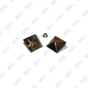 8551 PYRAMID ORNAMENT 18X18 MM ZAMAK