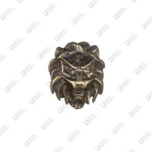 9987 LION HEAD SHAPE ORNAMENT ZAMAK
