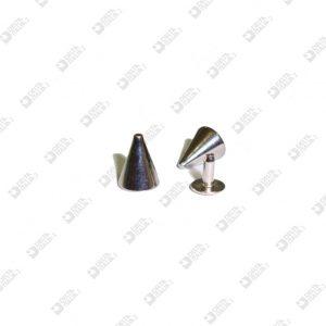 10950/10-P  KILLER ORNAMENT 8X10 MM AT PRESSURE BRASS