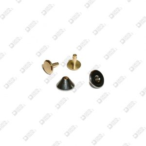 2492 KILLER ORNAMENT 9X5 WIRE 3 MM AT PRESSURE AND AT SCREW BRASS