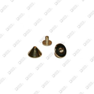 8562 KILLER ORNAMENT 10X6 WIRE 3 MM BRASS AT PRESSURE AND AT SCREW BRASS