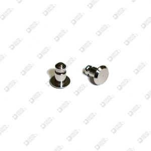 63061 PIN FOR AUTOMATIC BUTTON 9X11 MM BRASS