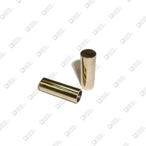 10589 CORD END 10X30 HOLE 8 BRASS