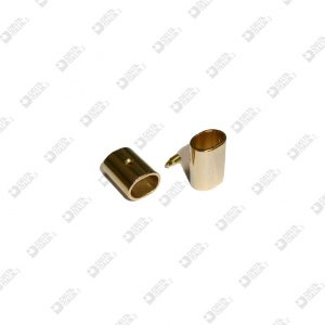 3298 OVAL TUBE 8,5X11,5X15 WITH HEADLESS SCREW BRASS