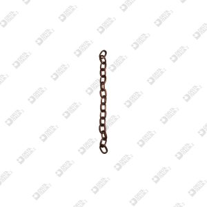 8625 CATENA FORZATINA 100 4,9X7,2 MM FERRO